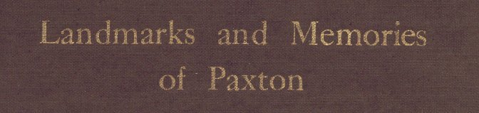 Paxton, MA history and genealogy