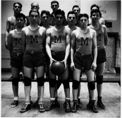 Mountaindale High School Basketball Team of the 1930s