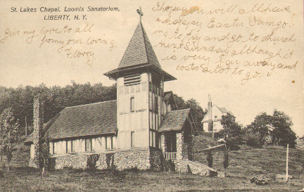 Loomis Sanitorium Chapel, Liberty, Sullivan County, NY