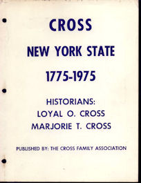 Cross -- New York State 1775 - 1975